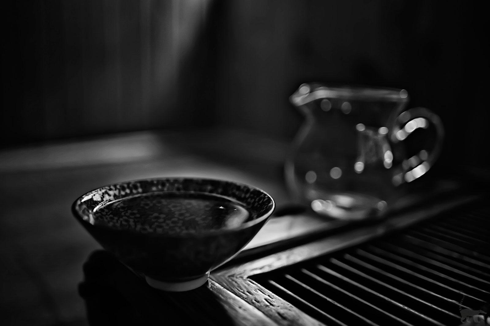 Tasse de délicieux thé noir