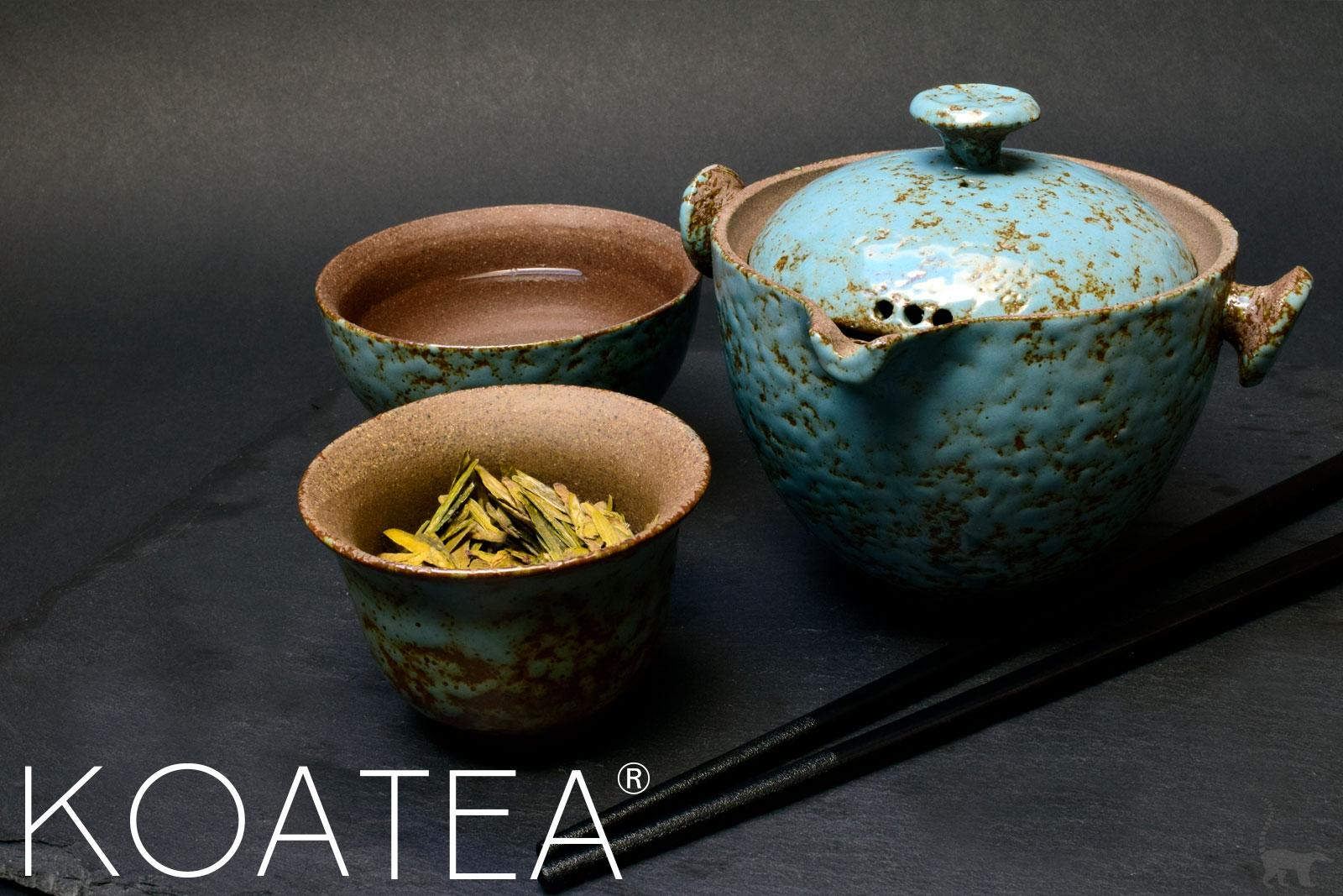 Préparation du thé Sencha