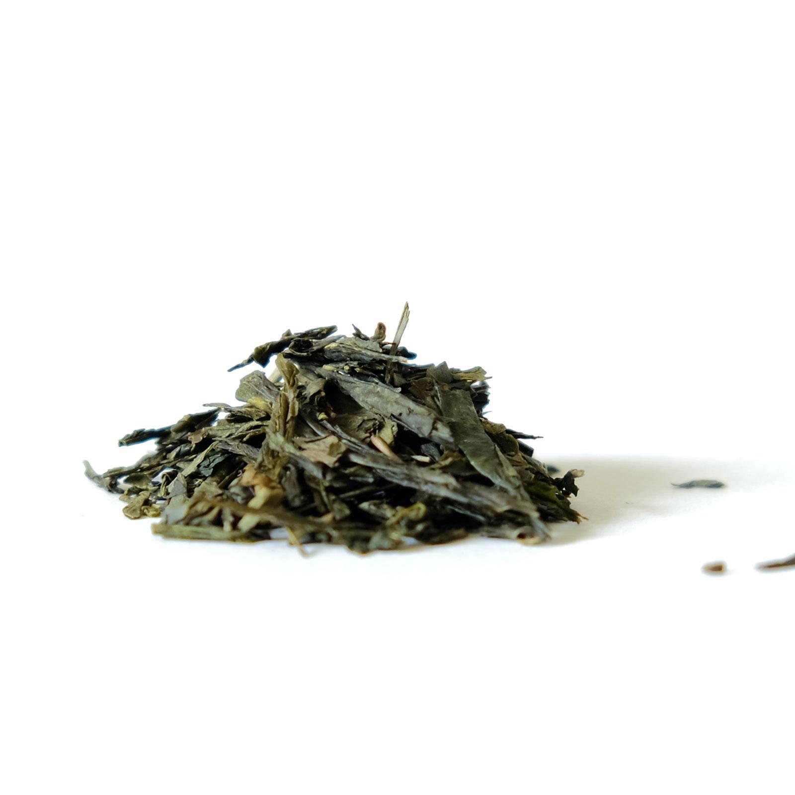 Feuilles de thé Sencha et arômes naturels de cerises
