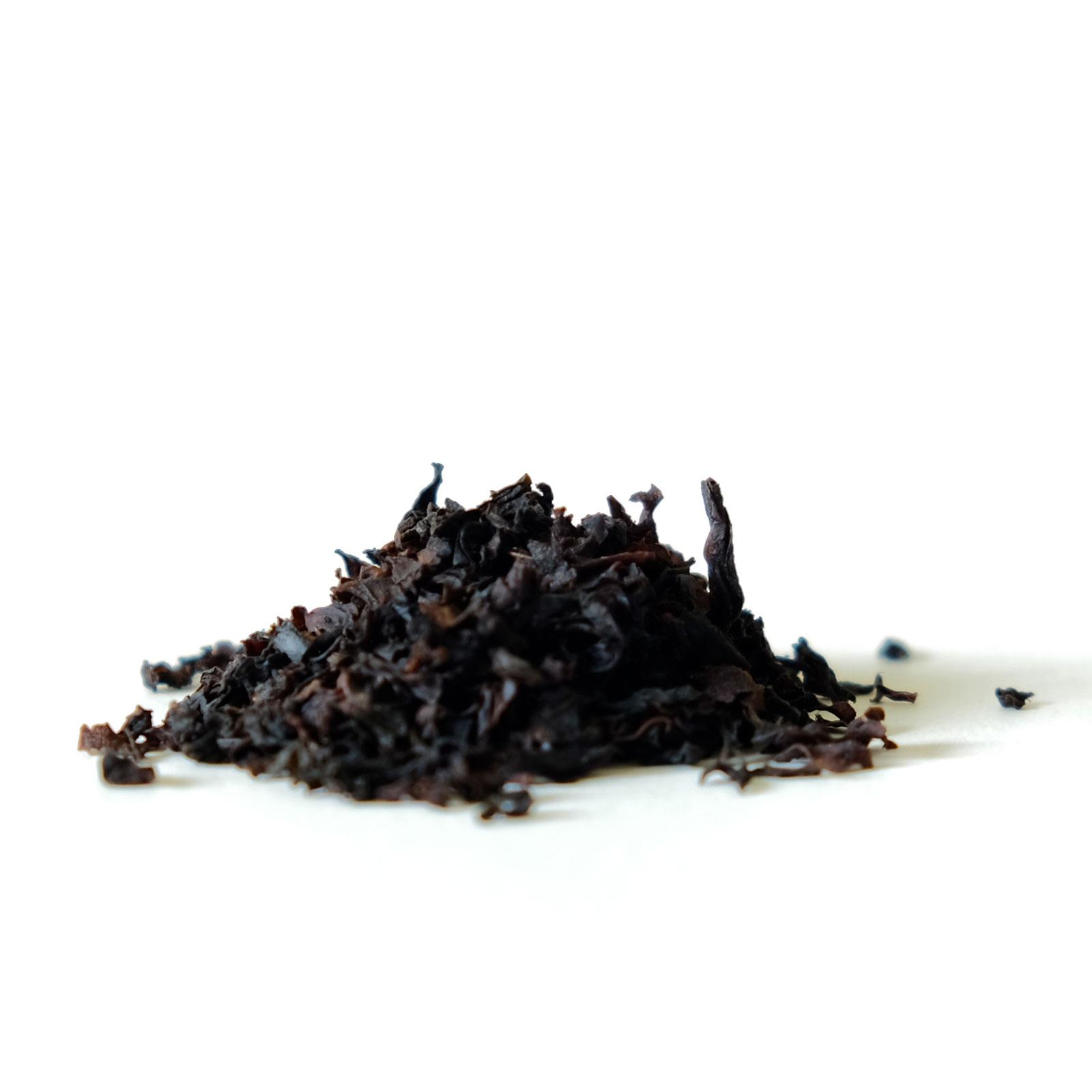Feuilles de thé noir de Ceylan