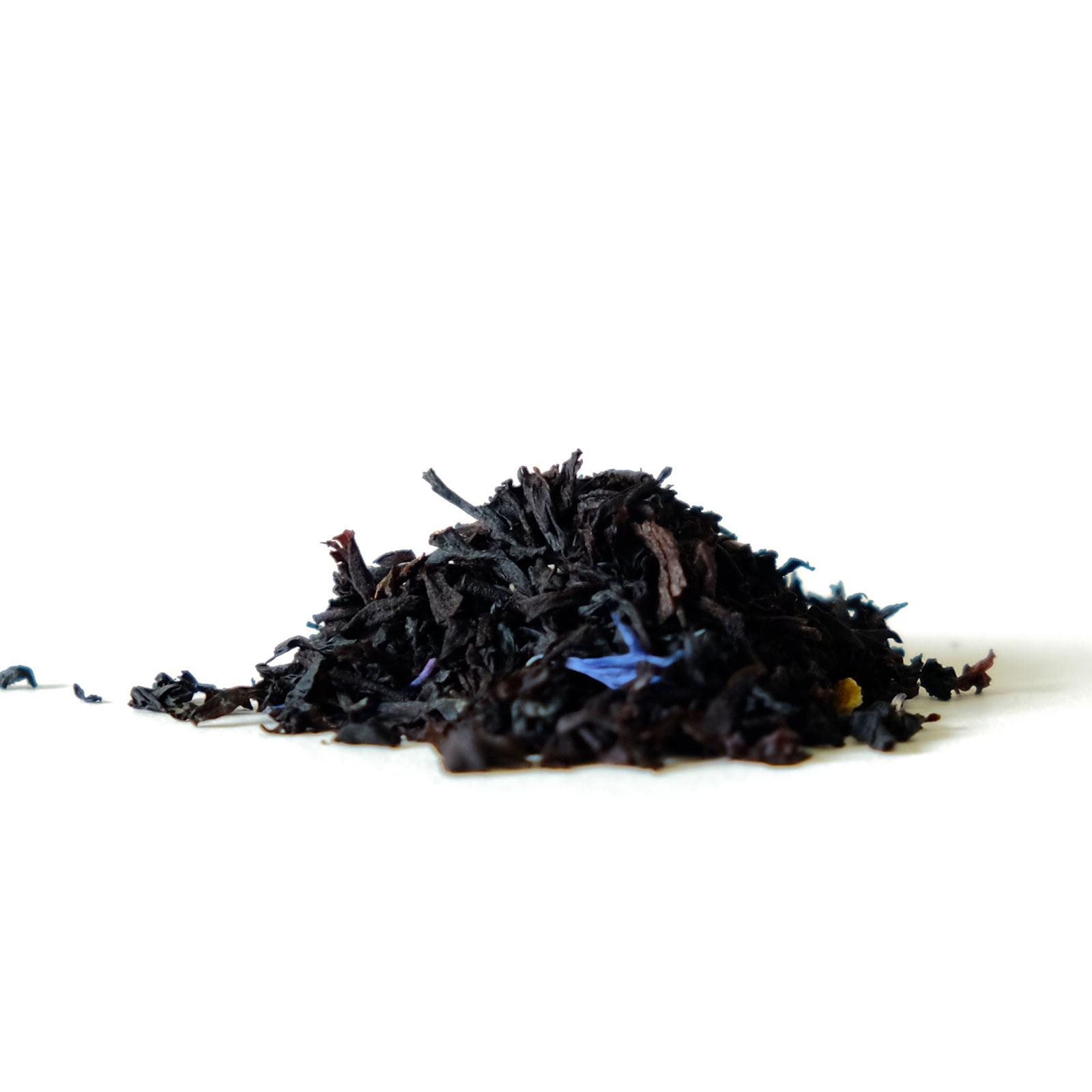 Feuilles de thé noir BIO et bergamote