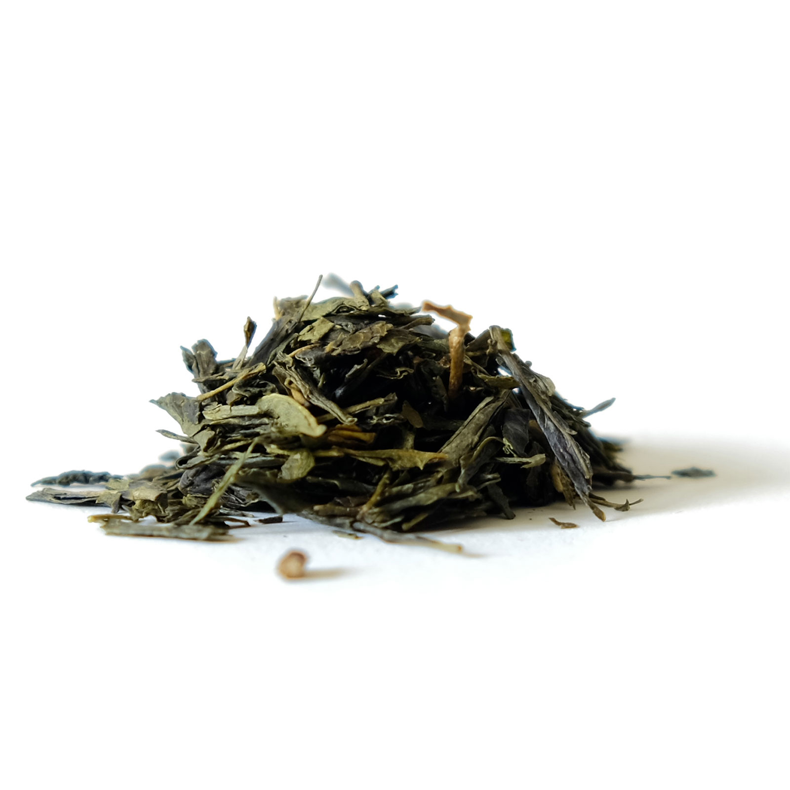 Feuilles de thé vert Sencha de Chine BIO