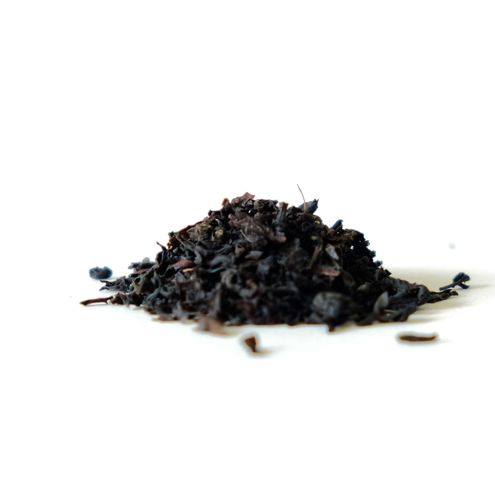 Feuilles de thé noir Assam et Ceylan