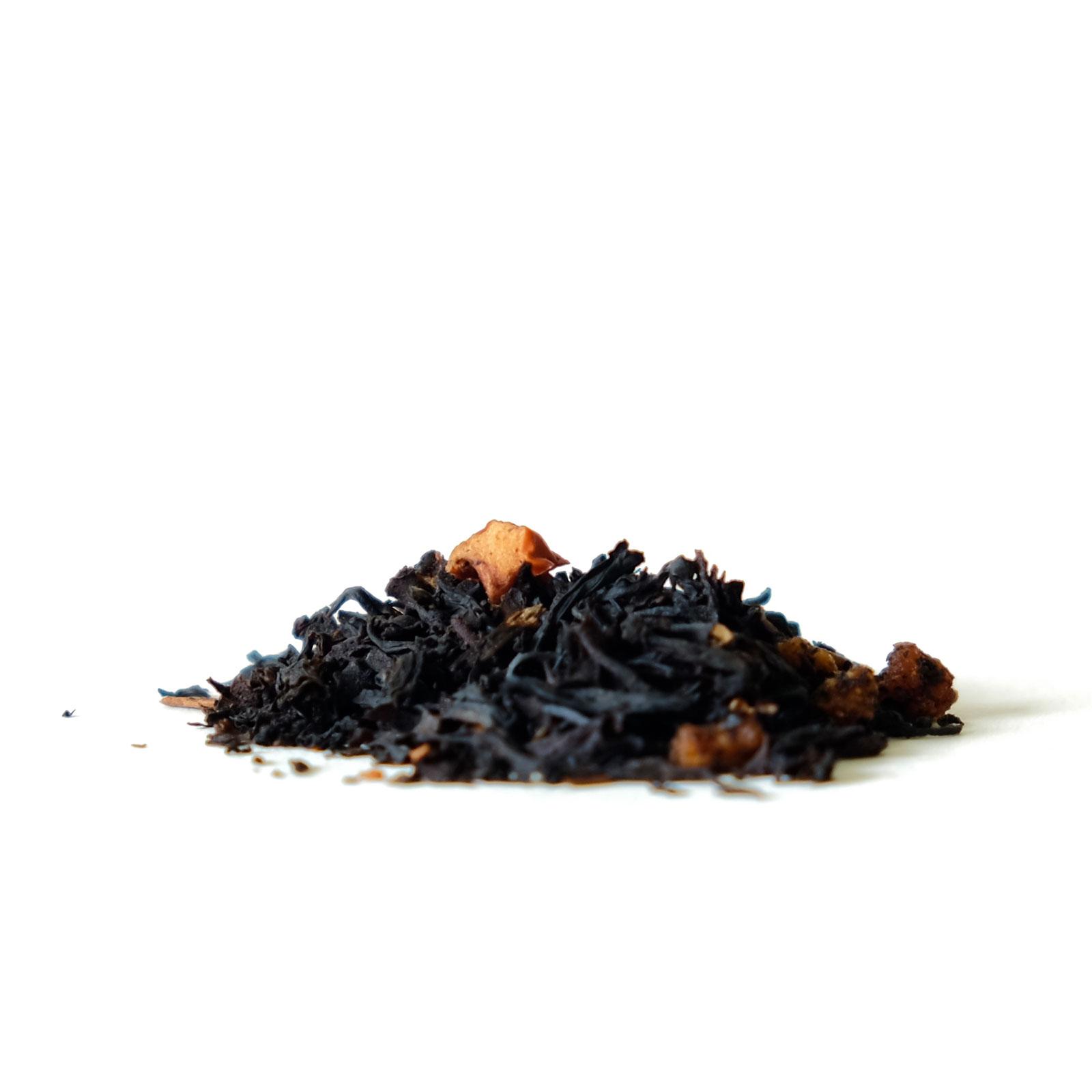 Thé noir saveur pomme caramélisée