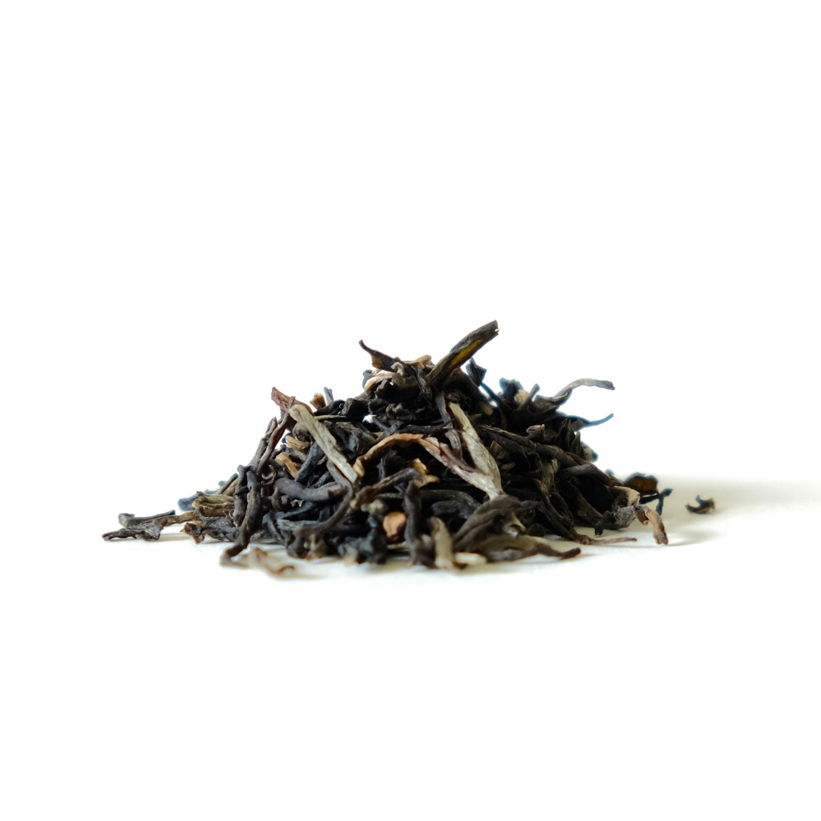 Feuilles de thé vert au jasmin