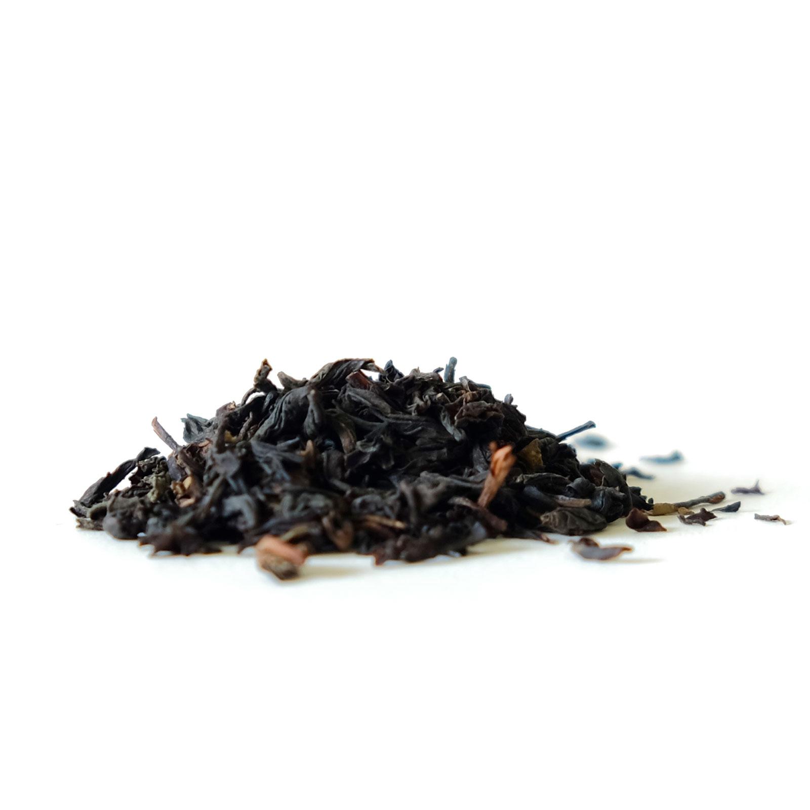 Association feuilles de thé Assam Darjeeling et Keemun