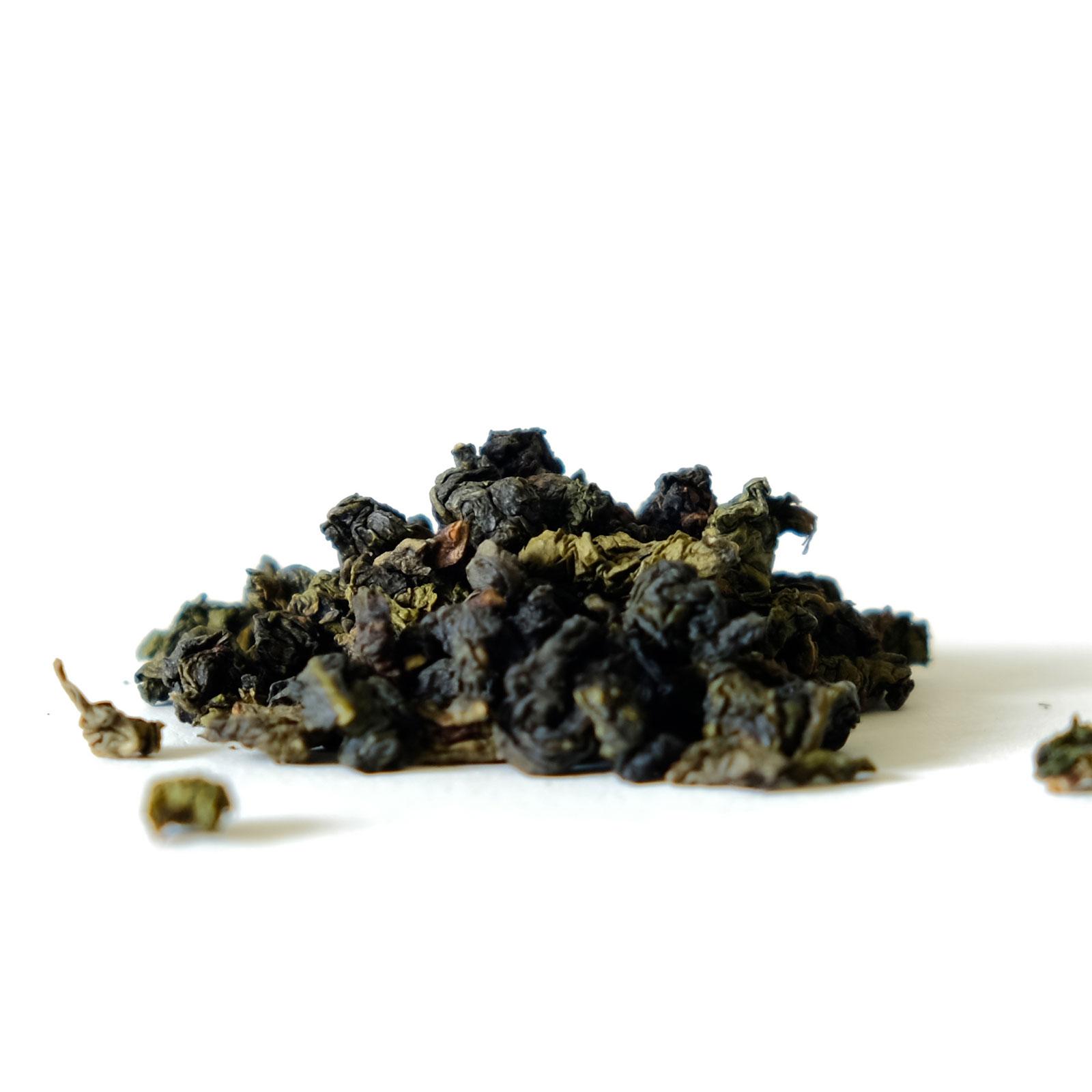 Feuilles de thé Oolong de Thaïlande