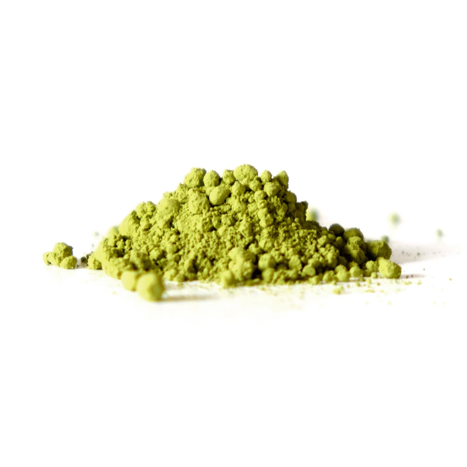 Délicate poudre de thé vert Matcha Japan Seian
